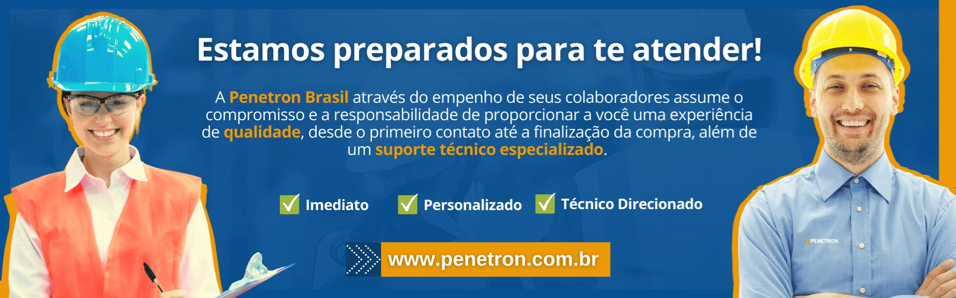 Atendimento Penetron Brasil